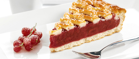Dutch Morello Cherry Flan